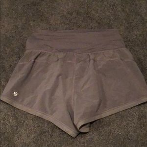 lululemon athletica Shorts - Gray lulu shorts
